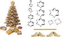 Weihnachtsbaum DELÍCIA, Ausstechformen-Set