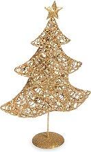 Weihnachtsbaum-Figur, goldfarben H30