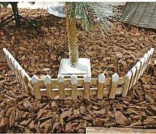 Weihnachtsbaum-Gartenzaun Die Saisontruhe
