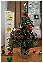Weihnachtsbaum komplett geschmückt 75 cm -