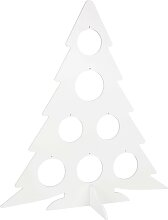 Weihnachtsbaum, weiß H80