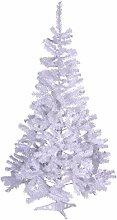 Weihnachtsbaum weiß mit Glitzereffekt Christbaum