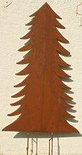 Weihnachtsbaum Wohndeko Gartendeko Rost Baum