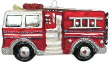 Weihnachtsbaumfiguren Feuerwehrauto