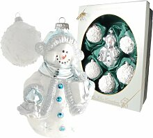 Weihnachtsbaumfiguren Schneemann mit