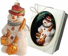 Weihnachtsbaumfiguren Viktorianischer Schneemann
