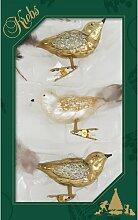 Weihnachtsbaumfiguren Vögelin Kupfer