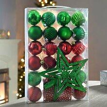 Weihnachtsbaumkugel-Set Weihnachten Die Saisontruhe