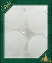Weihnachtsbaumkugeln Frost