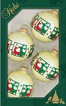 Weihnachtsbaumkugeln Rentierdekor