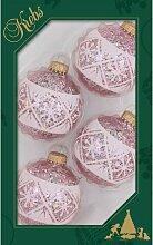 Weihnachtsbaumkugeln Schneeflockendeko