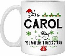 Weihnachtsbecher für Carol - Es ist eine