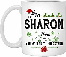 Weihnachtsbecher für Sharon - Es ist eine