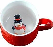 Weihnachtsbecher Tee Kaffeetassen