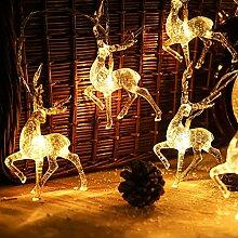 Weihnachtsbeleuchtung Fenster Led