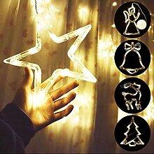 Weihnachtsbeleuchtung LED Fensterlicht Weihnachten