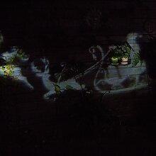 Weihnachtsbeleuchtung Projektor-Lampe Santa LED