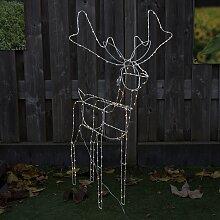 Weihnachtsbeleuchtung Rentier Beweglich.Garten Led Rentiere Günstig Online Bestellen Lionshome