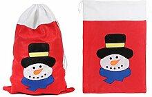 Weihnachtsbeutel Geschenksack 50x70 cm (wb-07)
