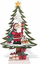 Weihnachtsdeko aus Holz Weihnachtsbaum mit
