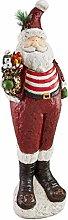Weihnachtsdeko - Chillin mit Weihnachtsmann 3 Meter hohen Feiertags-Dekor-Statue