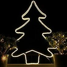Weihnachtsdeko Fenster LED Tannenbaum