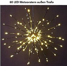 Weihnachtsdeko innen LED Leucht Stern warmweiß