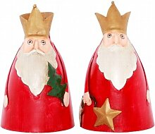 Weihnachtsdeko KingZaunHocker