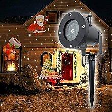 Weihnachtsdeko LED Lichteffekt Projektor Lampe