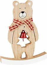 Weihnachtsdeko, Schaukelbär