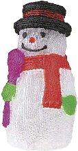Weihnachtsdeko Schneemann IP44 30xLED