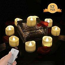 Weihnachtsdeko Teelichter LED mit