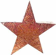 Weihnachtsdeko URANIE 34 cm Kupfer Stern Dekostern Weihnachtsstern