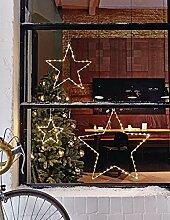 Weihnachtsdeko - Weihnachtsbeleuchtung Stern mit