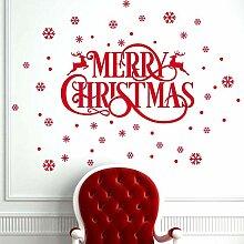 Weihnachtsdekoration Brief bewegliche Fenster