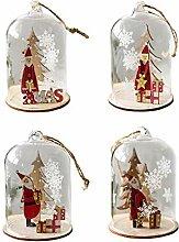 Weihnachtsdekoration Glas Weihnachtskugeln