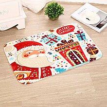 Weihnachtsdekoration Tür Matte im Freien Teppich