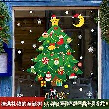 Weihnachtsdekoration verkleiden Aufkleber