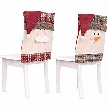 Weihnachtsdekoration Wohnkultur Stuhl Set