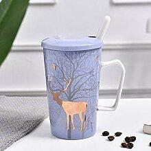 Weihnachtselch Becher Ins Keramik Tasse