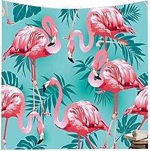 Weihnachtsgeschenk Flamingo Hippie Tapisserie