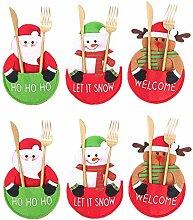 Weihnachtsgeschirr-Set mit Schneemann,