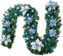 Weihnachtsgirlande 270cm Tannenzweig Künstliche