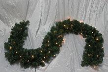 Weihnachtsgirlande beleuchtet  100 Birnen