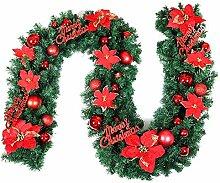 Weihnachtsgirlande, künstliche Tannengirlande mit