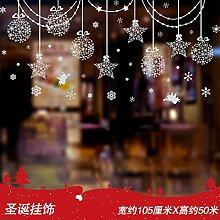 Weihnachtsglastüren, Dekoration, Dekoration,