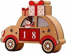 Weihnachtshölzerner Advent Countdown Calendar,