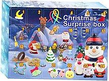 Weihnachtskalender Geschenkbox Weihnachten