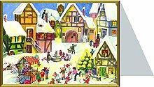 Weihnachtskarte - Jesu Gebur