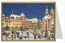 Weihnachtskarte - Stuttgar